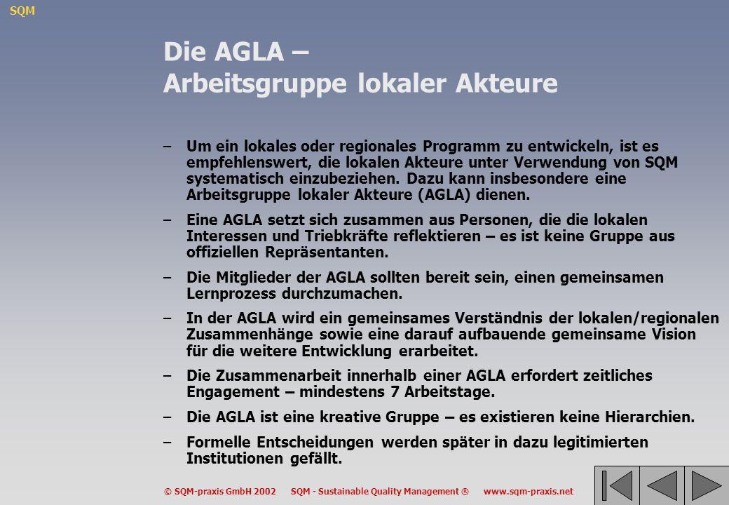 Die AGLA – Arbeitsgruppe lokaler Akteure