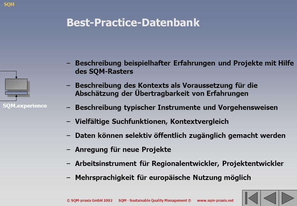 Best-Practice-Datenbank
