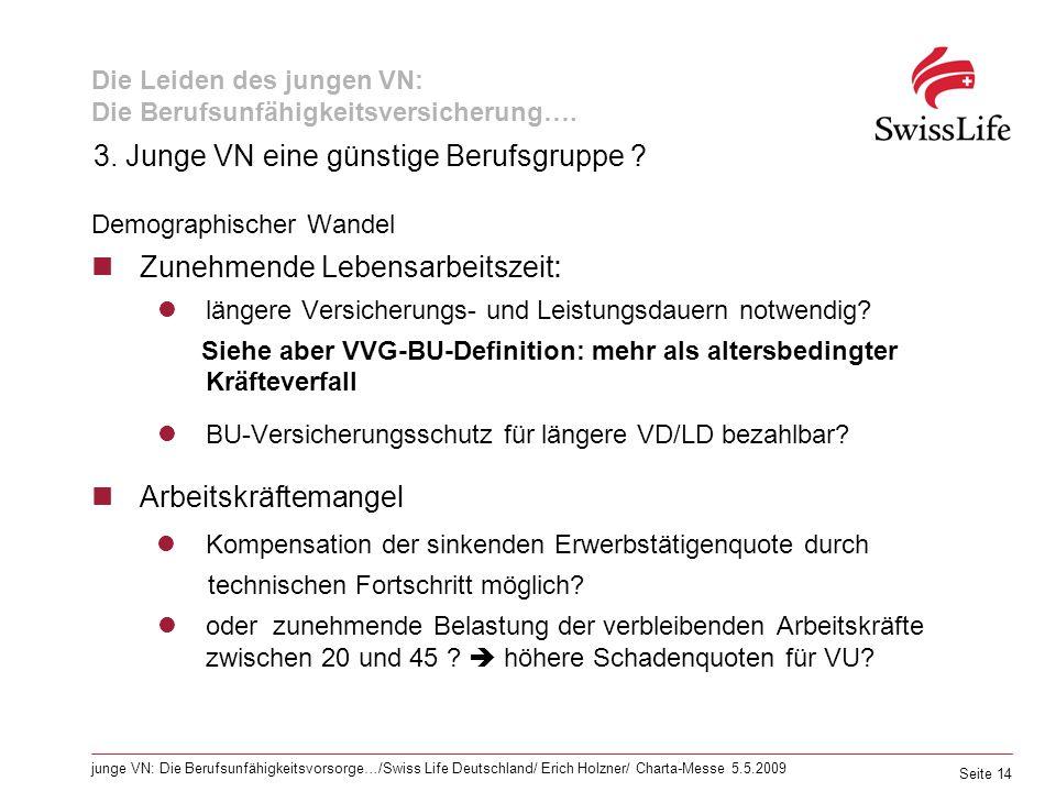 Die Leiden des jungen VN: Die Berufsunfähigkeitsversicherung….