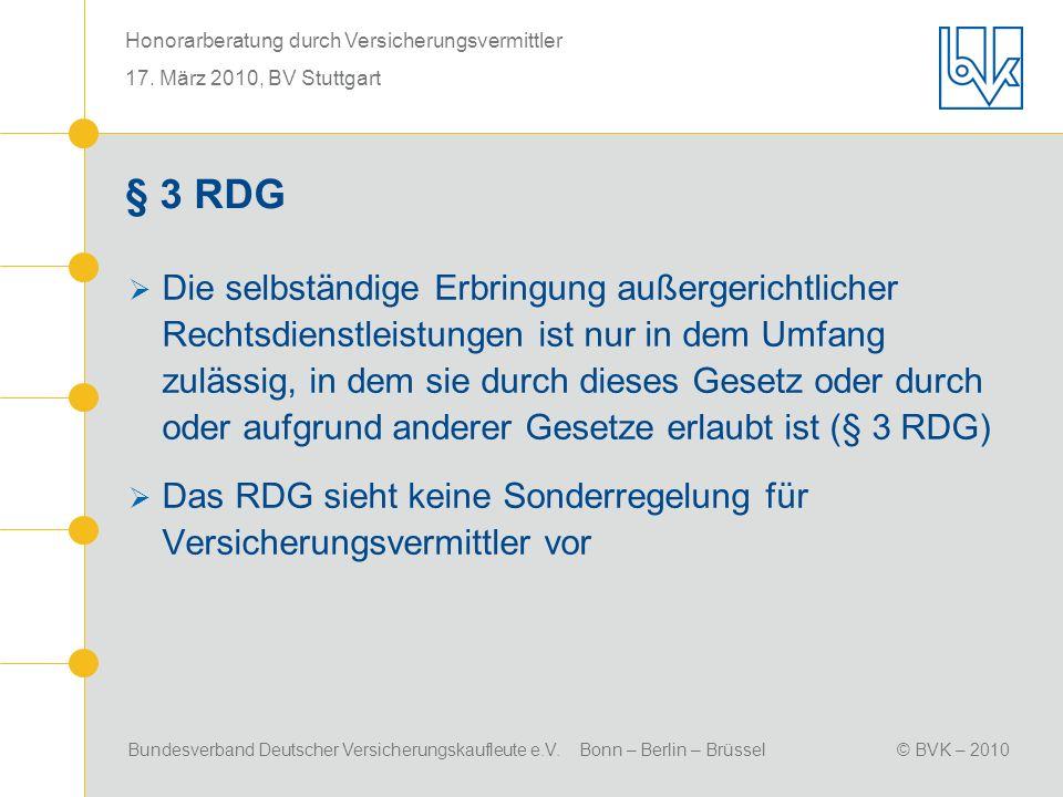 § 3 RDG