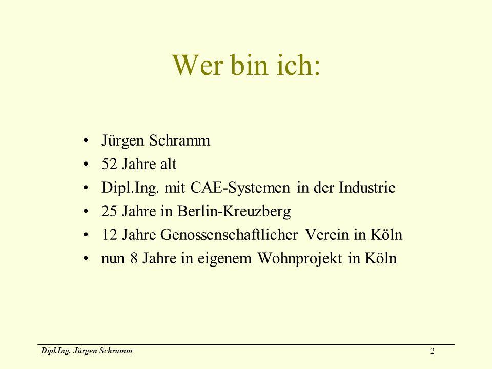 Wer bin ich: Jürgen Schramm 52 Jahre alt