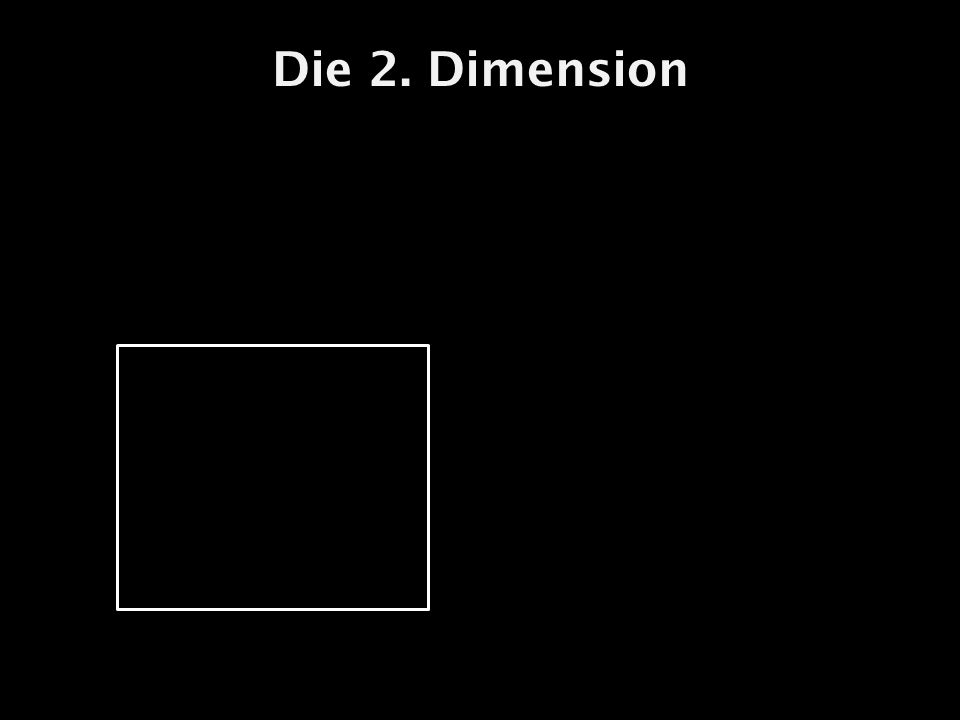 Die 2. Dimension