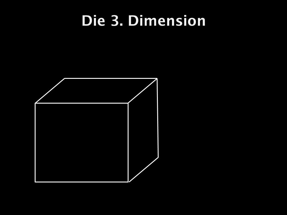 Die 3. Dimension