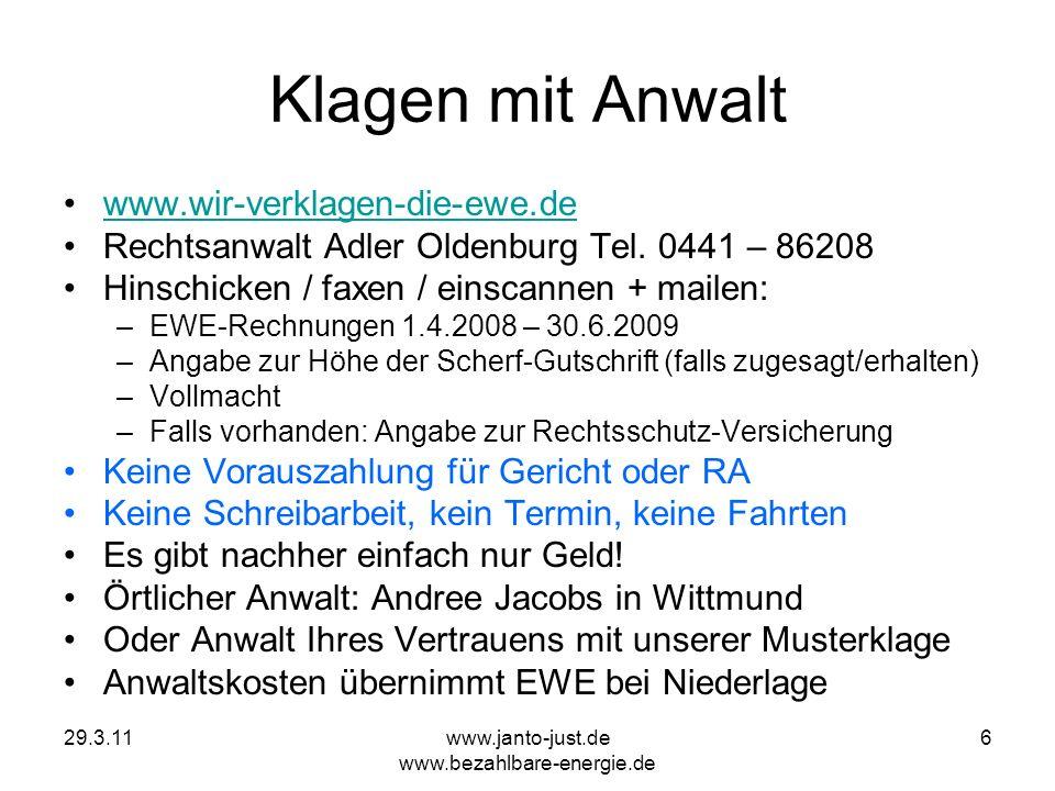 www.janto-just.de www.bezahlbare-energie.de