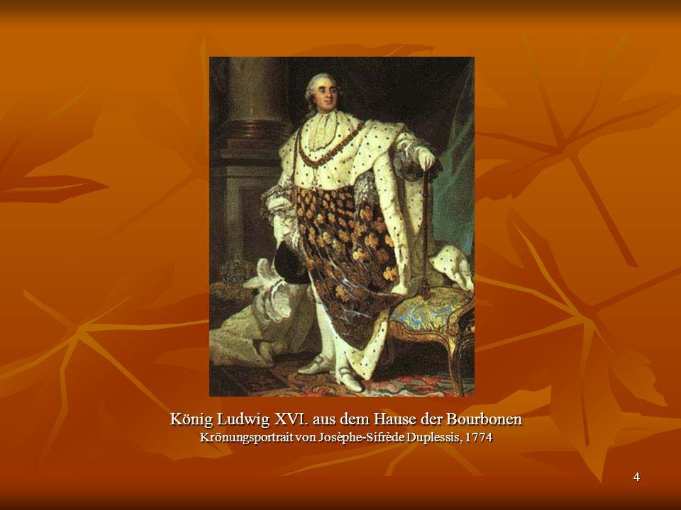 König Ludwig XVI. aus dem Hause der Bourbonen
