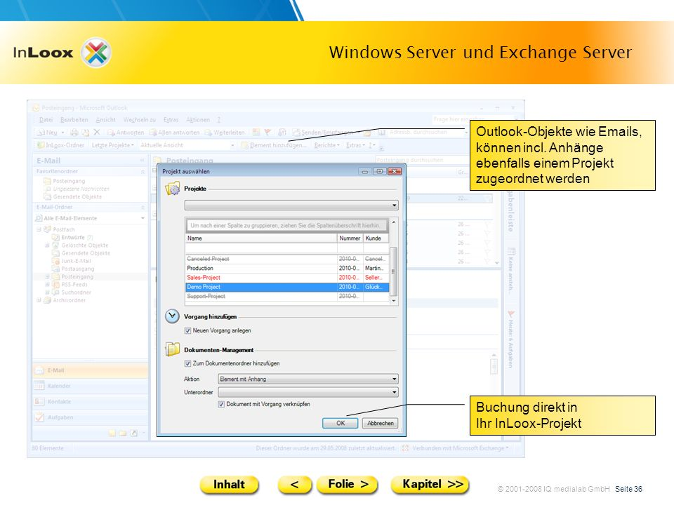 Windows Server und Exchange Server