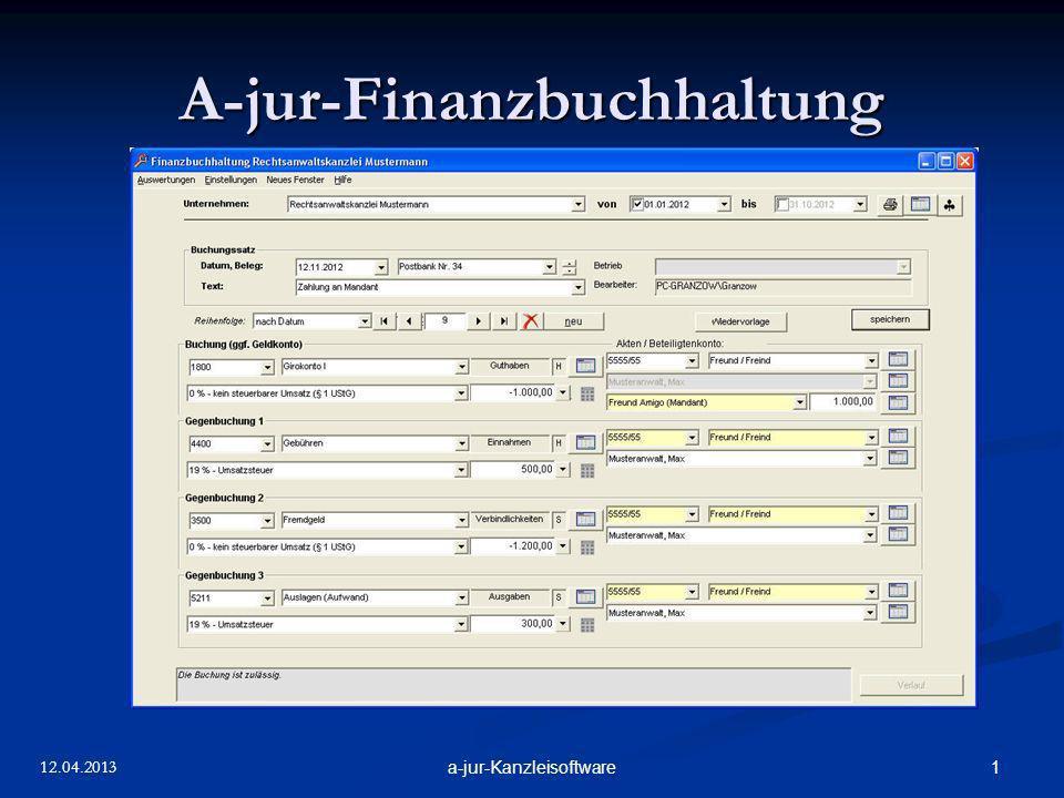 A-jur-Finanzbuchhaltung