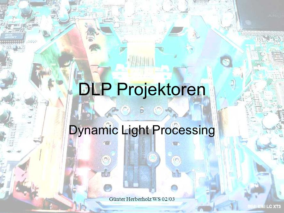 Dynamic Light Processing