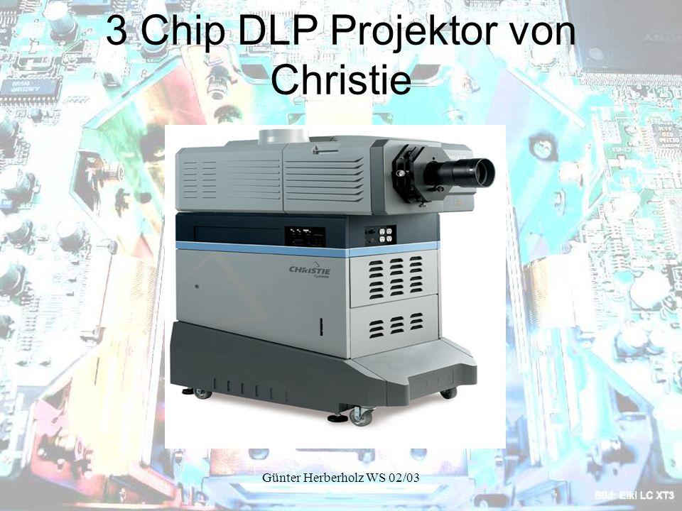 3 Chip DLP Projektor von Christie