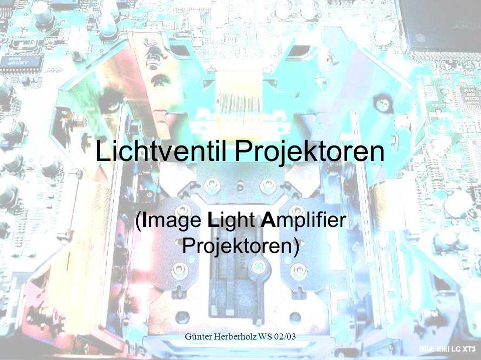 Lichtventil Projektoren