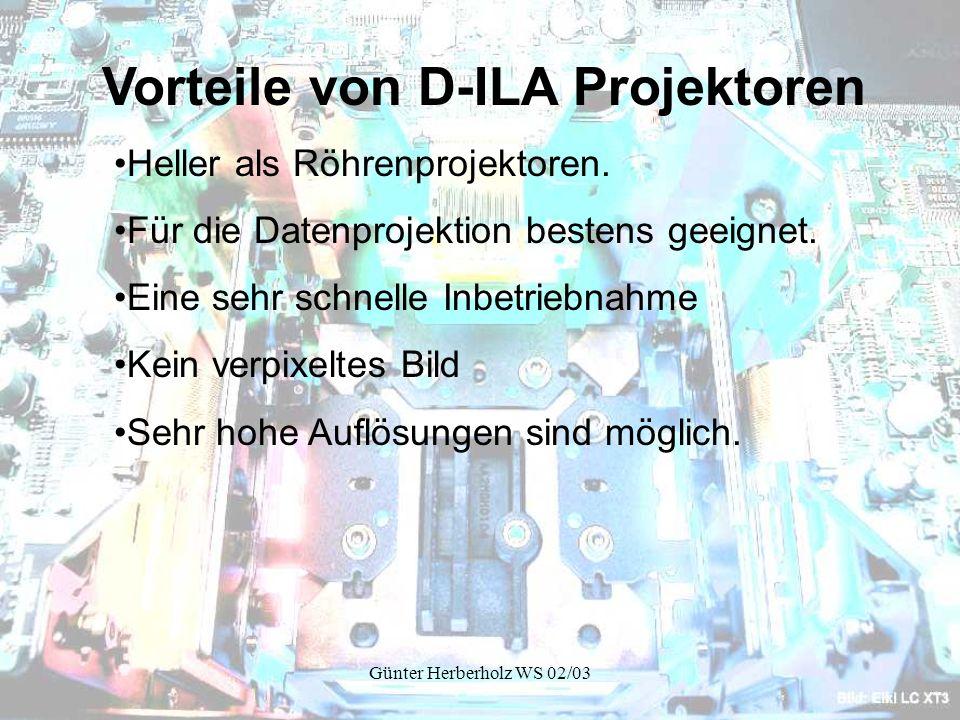 Vorteile von D-ILA Projektoren