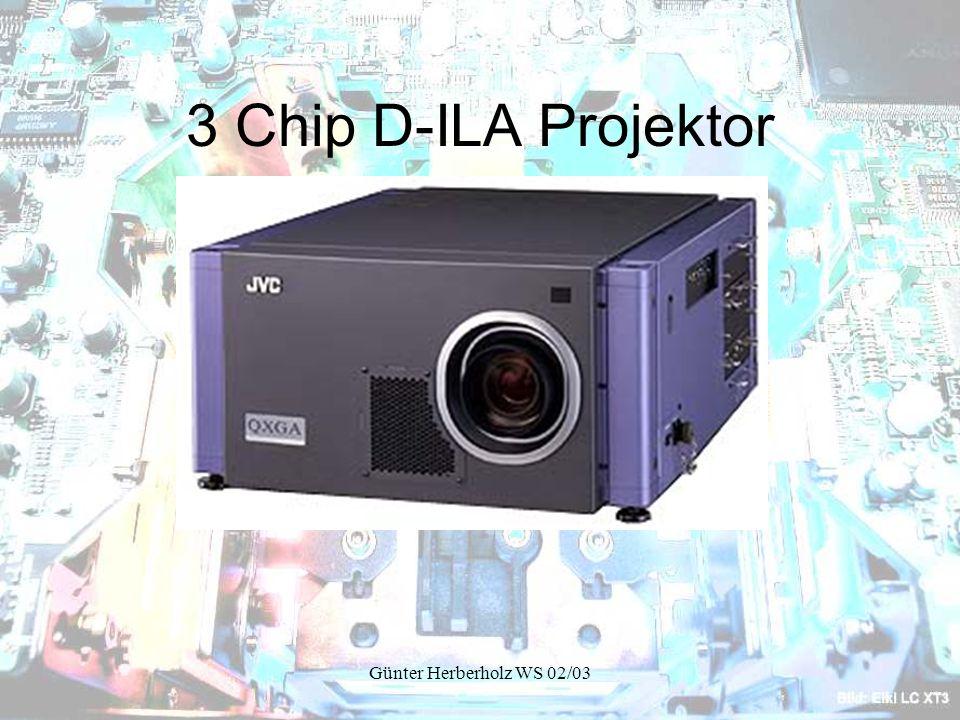 3 Chip D-ILA Projektor Günter Herberholz WS 02/03