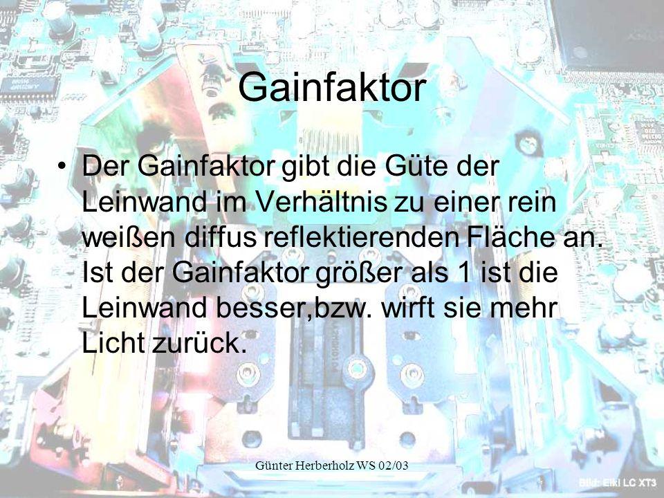 Gainfaktor