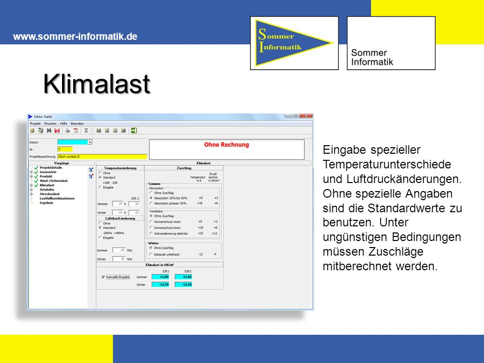 www.sommer-informatik.de Klimalast.