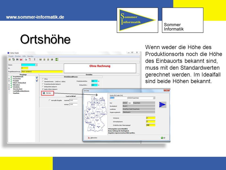 www.sommer-informatik.de Ortshöhe.