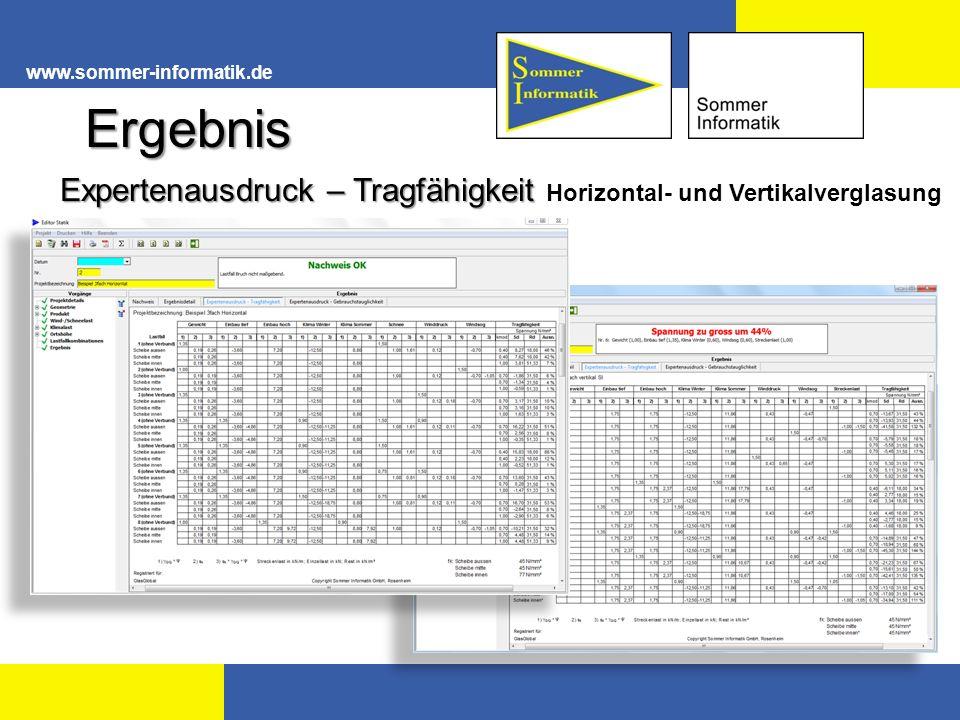 www.sommer-informatik.de Ergebnis.