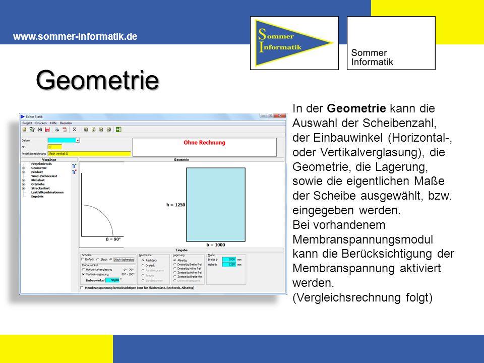 www.sommer-informatik.de Geometrie.