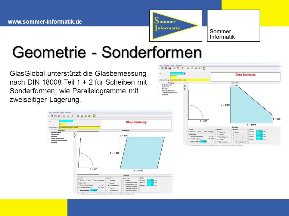 Geometrie - Sonderformen