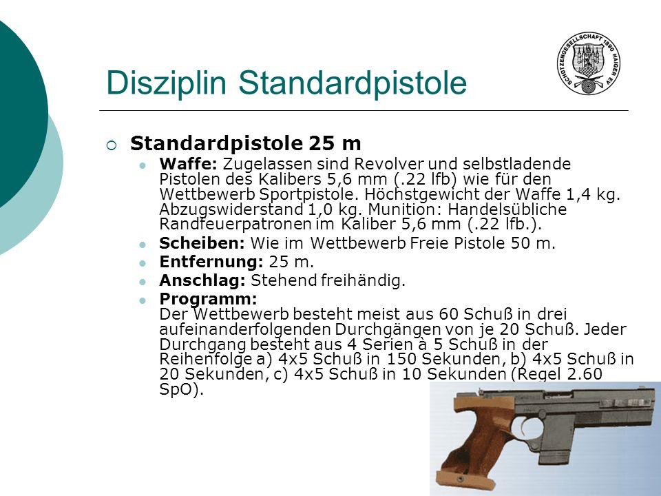 Disziplin Standardpistole