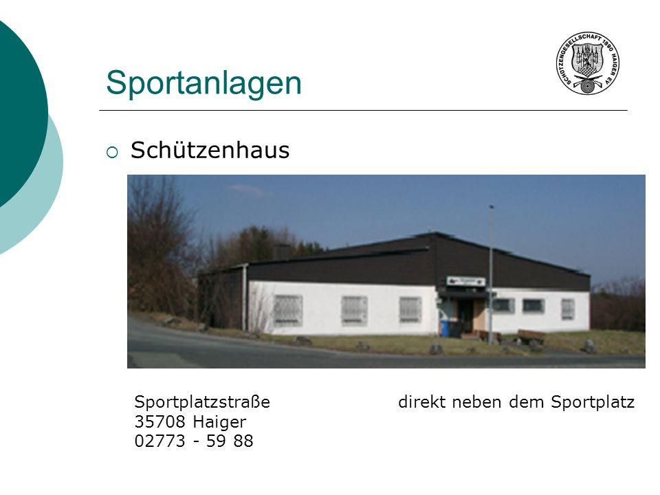 Sportanlagen Schützenhaus