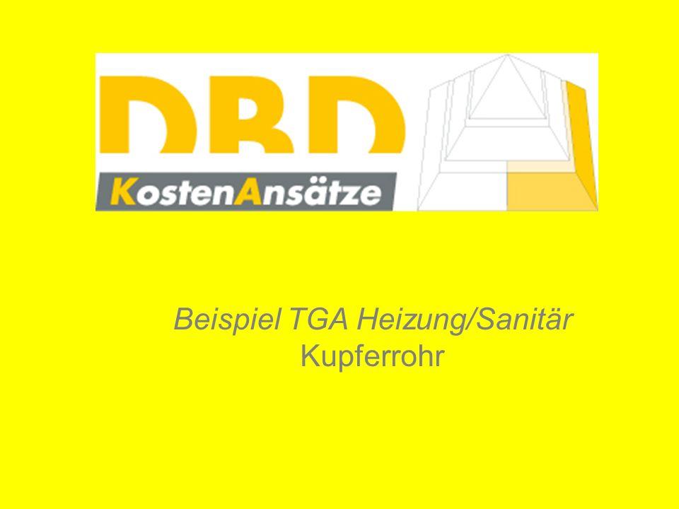 Beispiel TGA Heizung/Sanitär