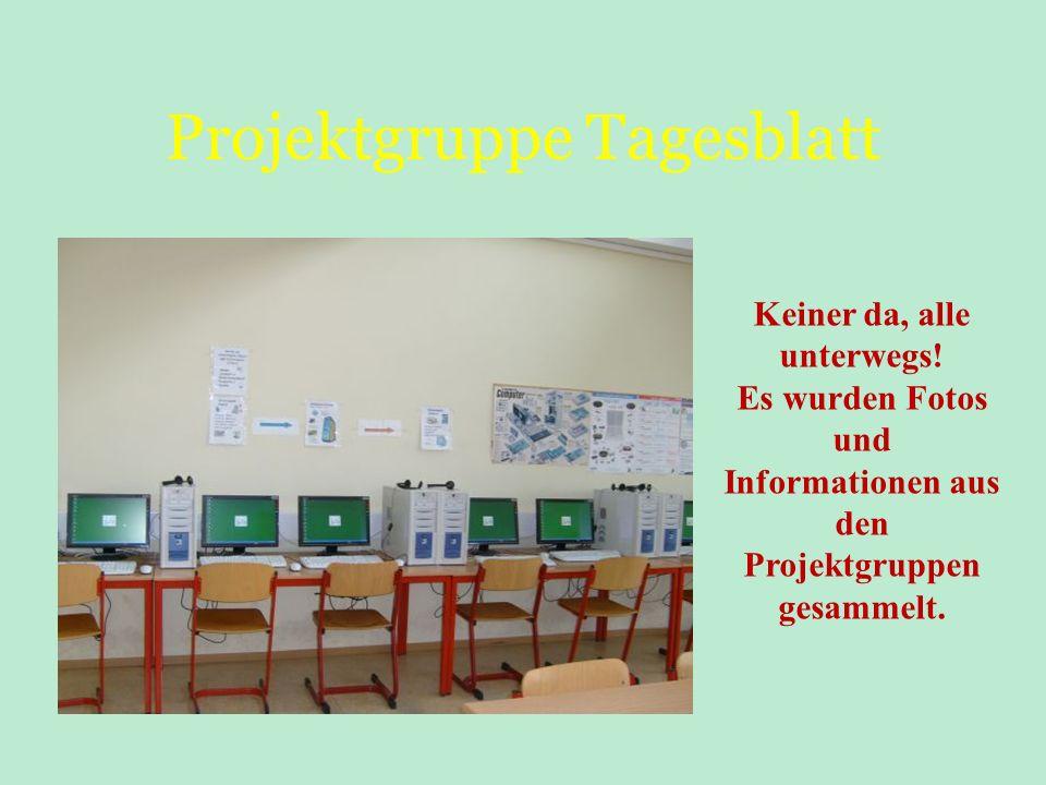 Projektgruppe Tagesblatt