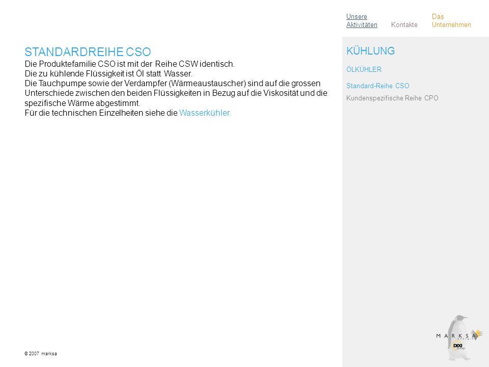 Unsere Aktivitäten Das Unternehmen. Kontakte.