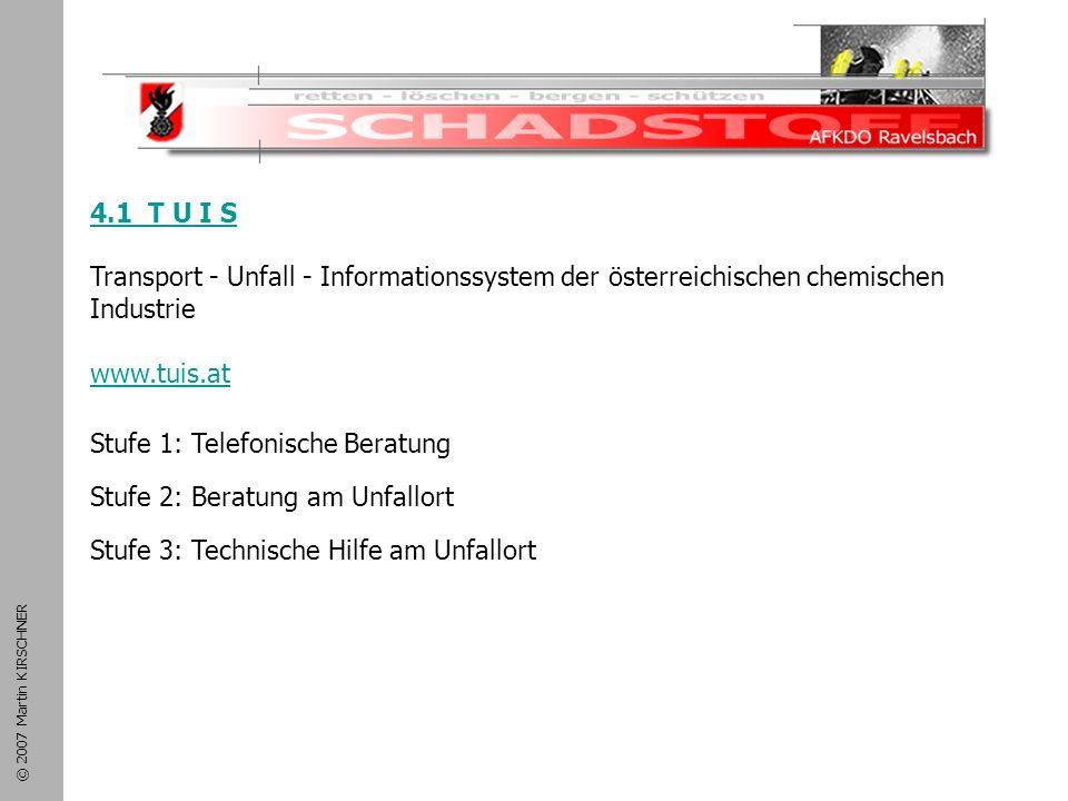 Schadstoffeinsatz 4.1 T U I S