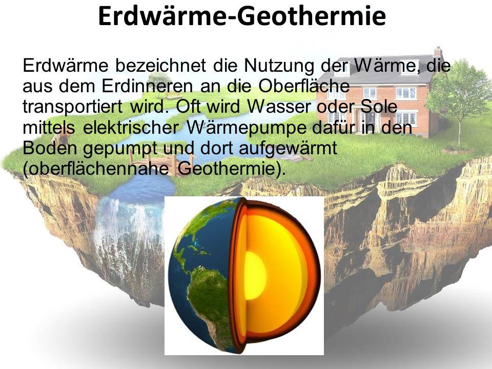 Erdwärme-Geothermie