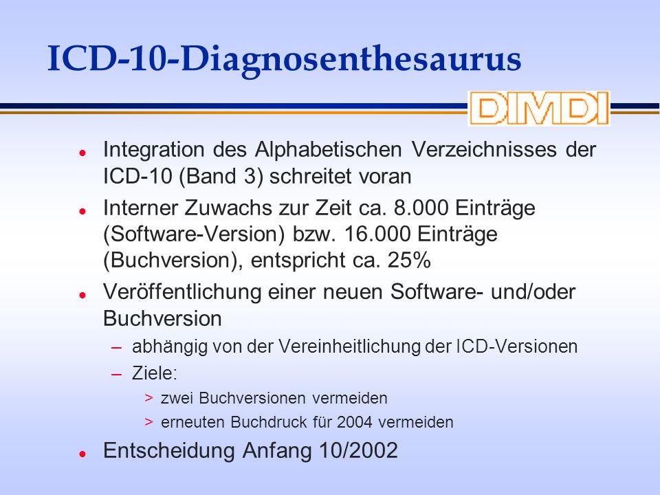 ICD-10-Diagnosenthesaurus