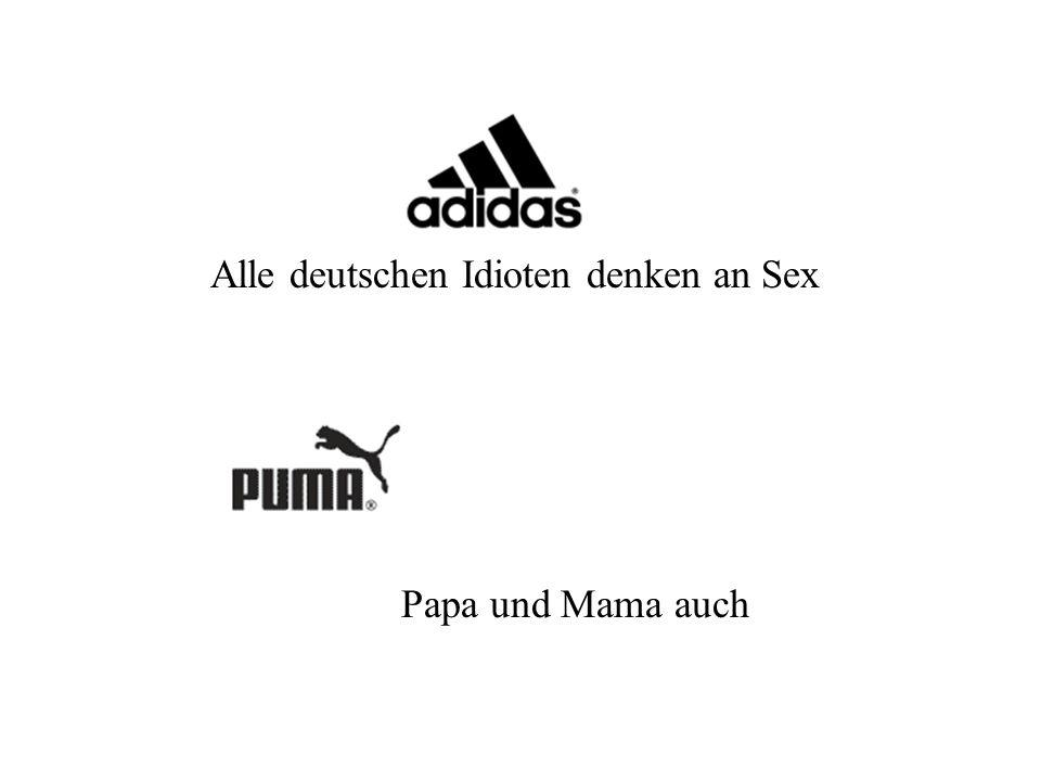 Alle deutschen Idioten denken an Sex