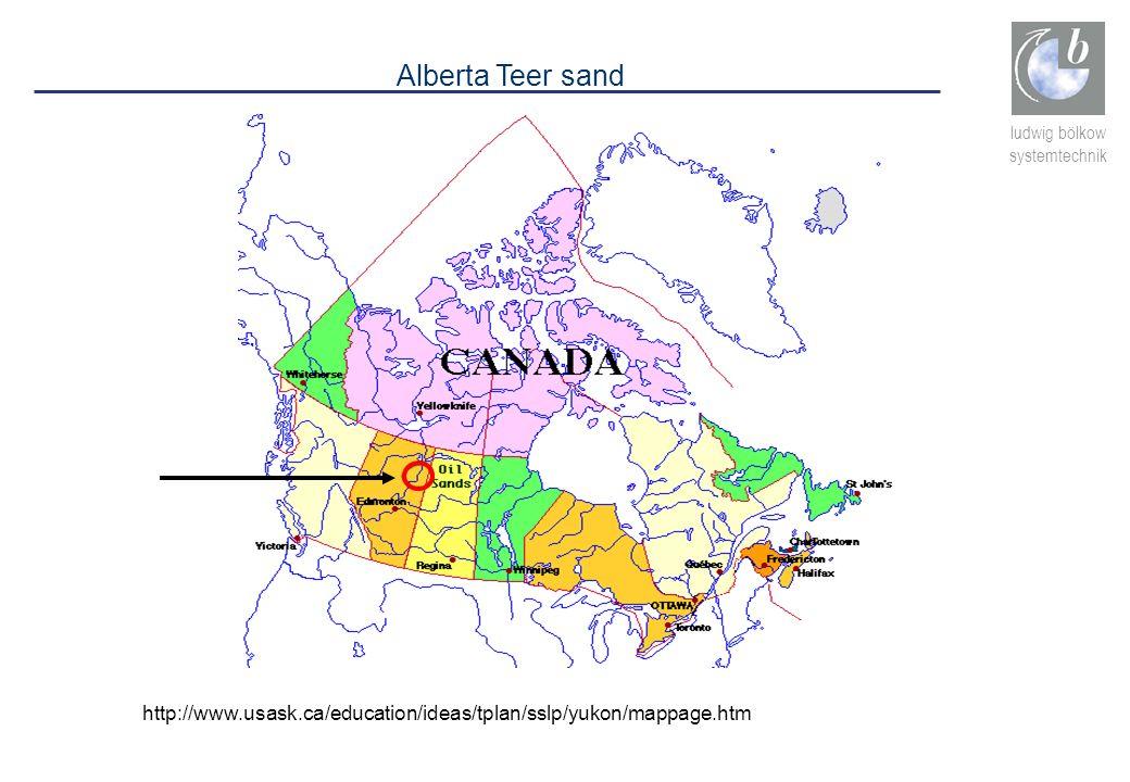 Alberta Teer sand http://www.usask.ca/education/ideas/tplan/sslp/yukon/mappage.htm