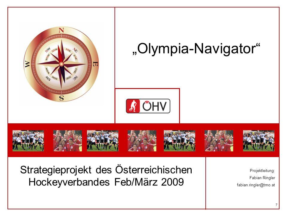 Strategieprojekt des Österreichischen Hockeyverbandes Feb/März 2009