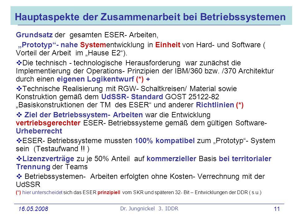 Hauptaspekte der Zusammenarbeit bei Betriebssystemen