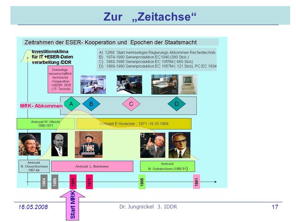 """Zur """"Zeitachse"""