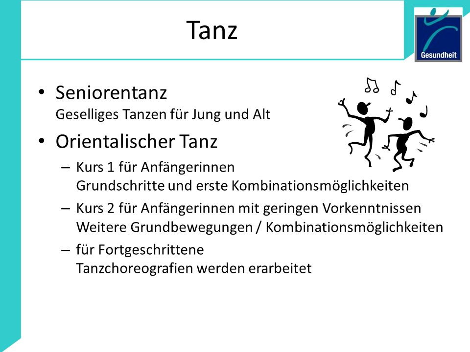 Tanz Seniorentanz Geselliges Tanzen für Jung und Alt