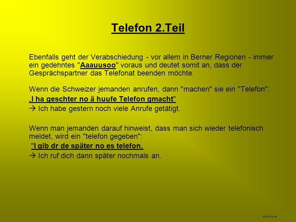 Telefon 2.Teil