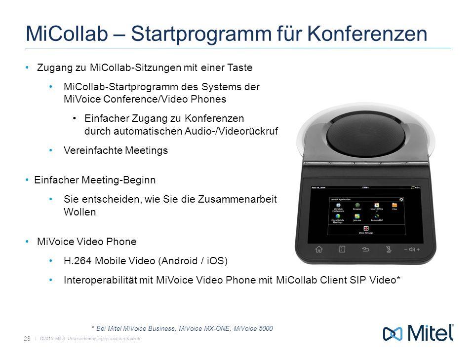 MiCollab – Startprogramm für Konferenzen