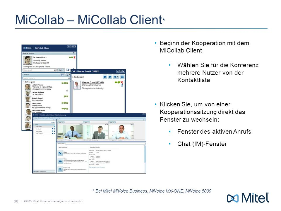 MiCollab – MiCollab Client*