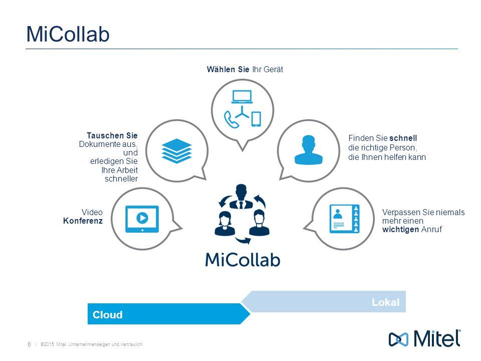 MiCollab Lokal Cloud Wählen Sie Ihr Gerät