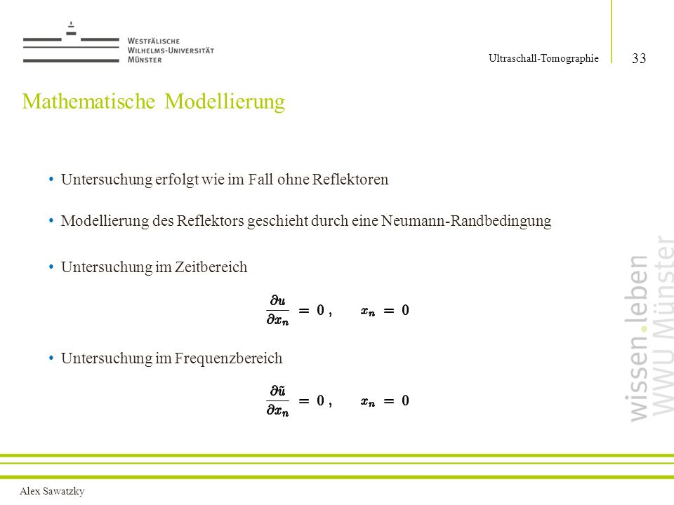 Mathematische Modellierung
