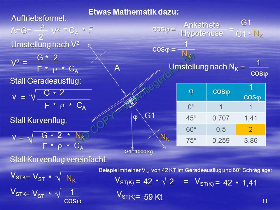 Etwas Mathematik dazu: