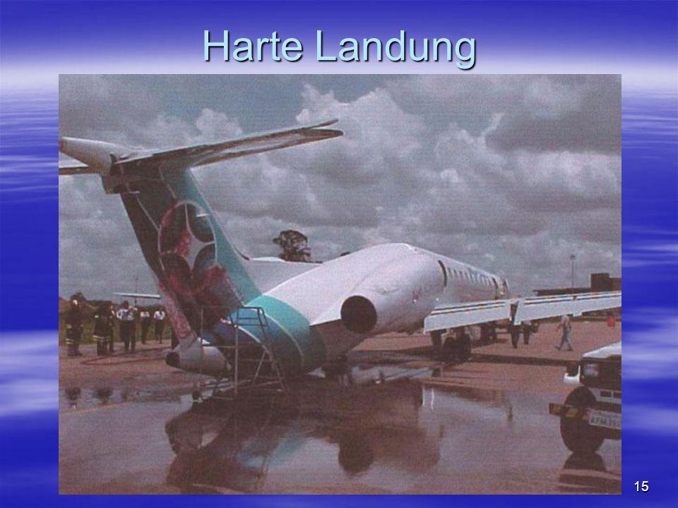 Harte Landung