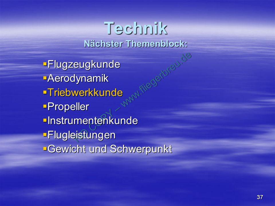 Technik Nächster Themenblock: