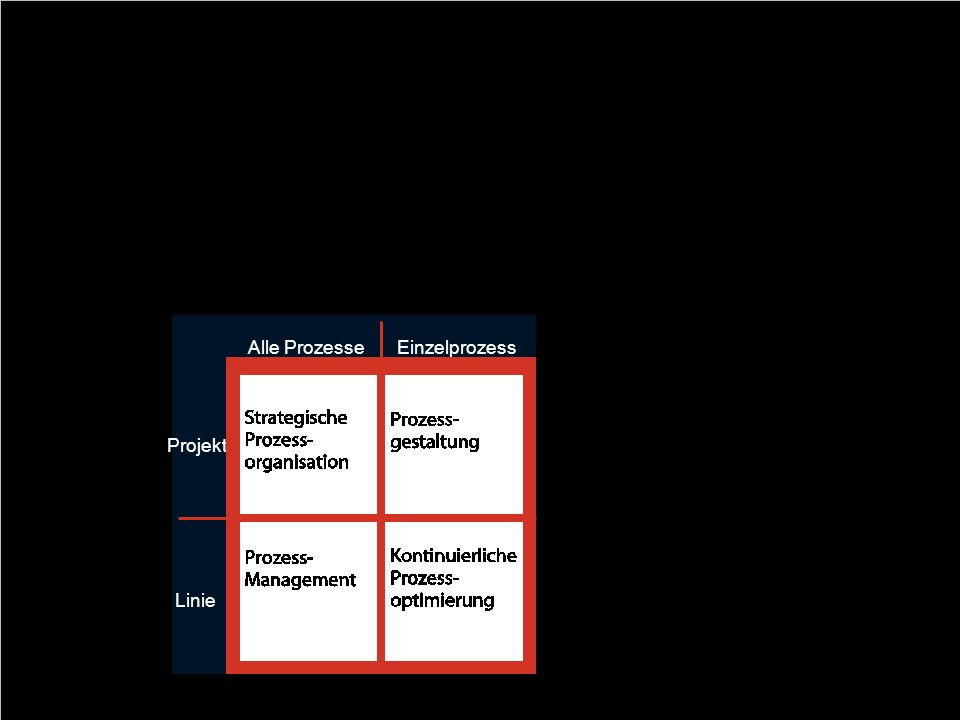 Business Process Management als Quadrant