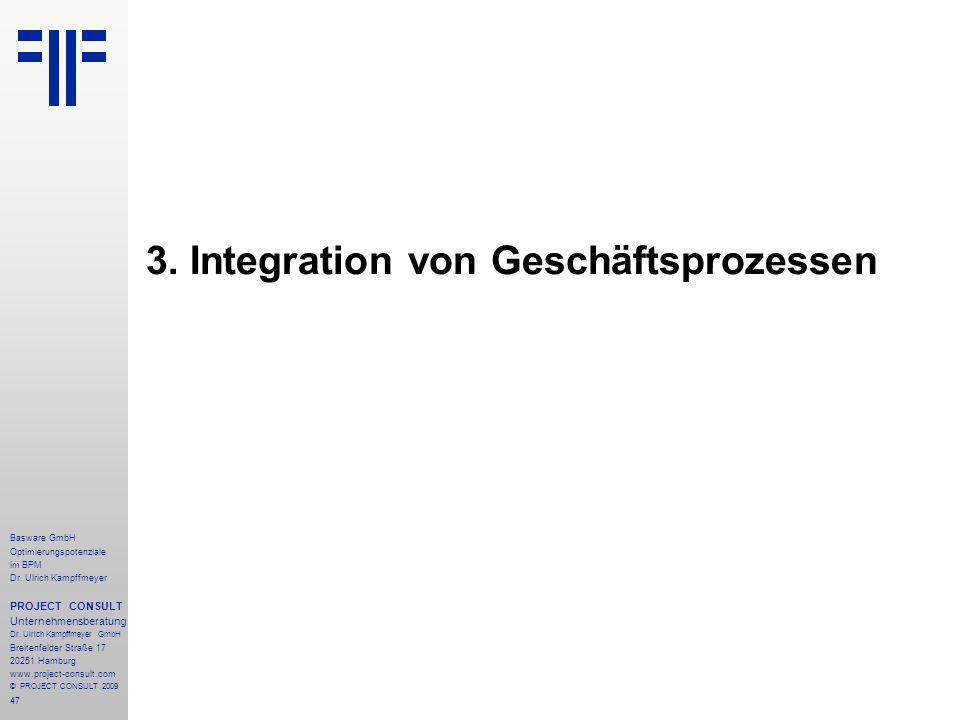 3. Integration von Geschäftsprozessen