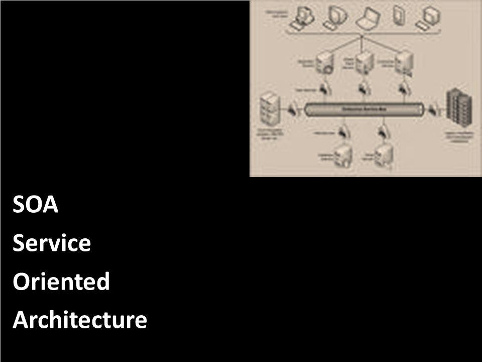 SOA Service Oriented Architecture PROJECT CONSULT Unternehmensberatung