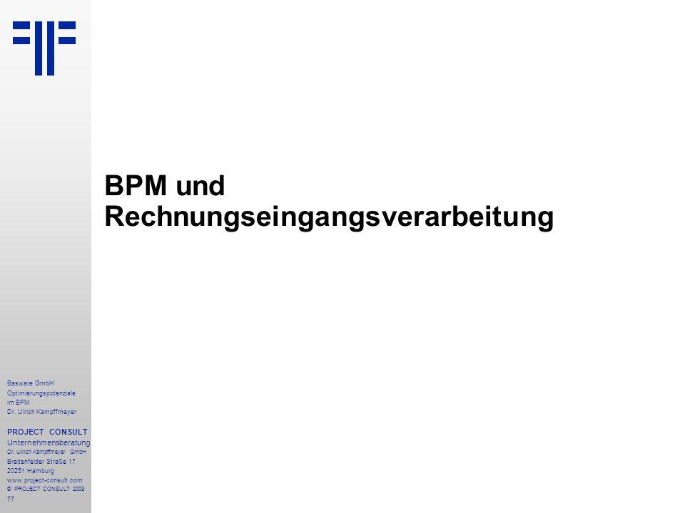 BPM und Rechnungseingangsverarbeitung