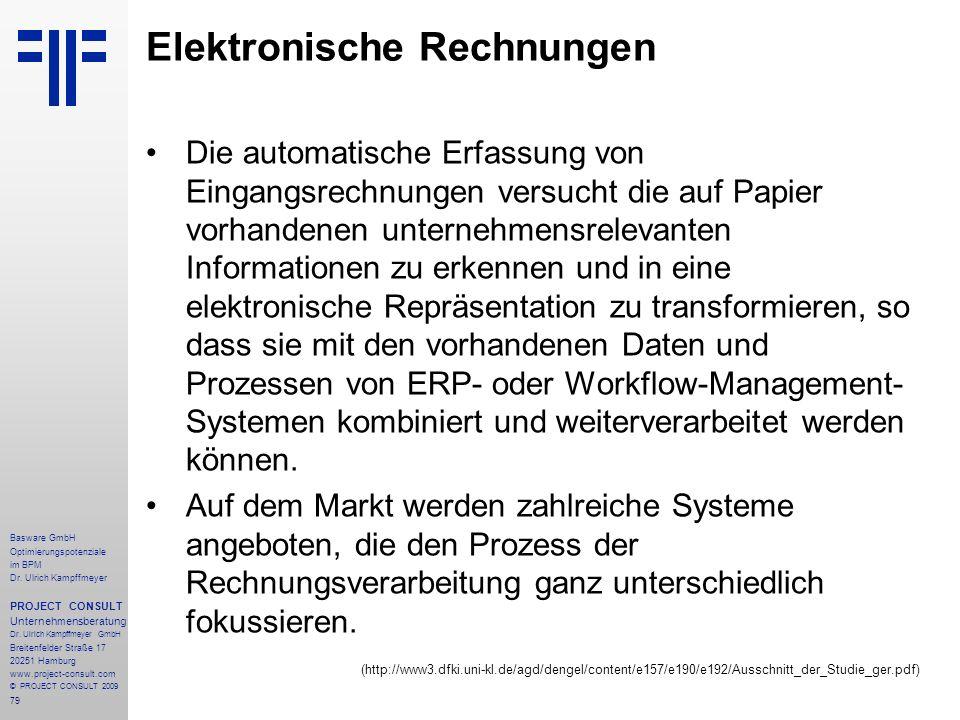 Elektronische Rechnungen