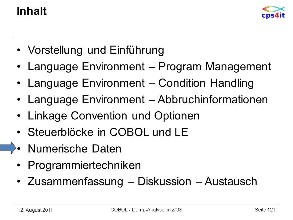 COBOL - Dump-Analyse im z/OS